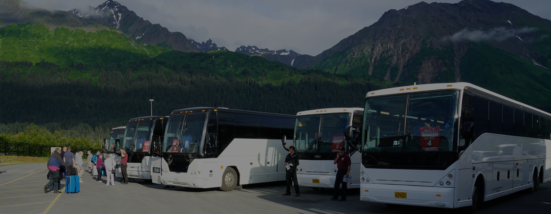 Whittier to Anchorage bus